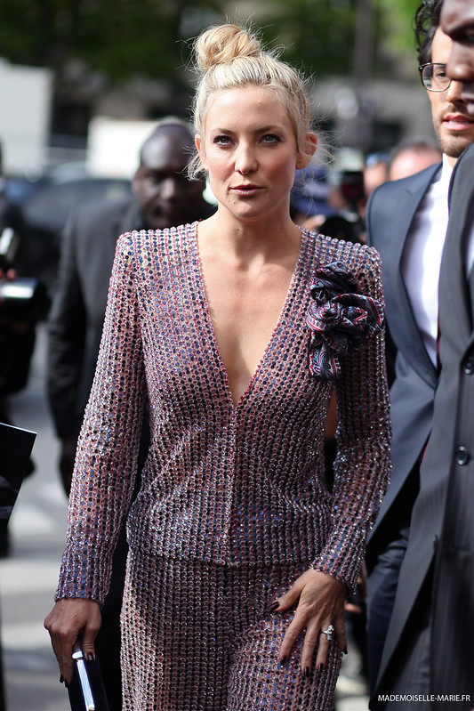 Kate Hudson at Paris fashion week Haute Couture