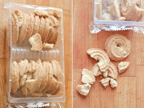 Shortbread Cookie Collage