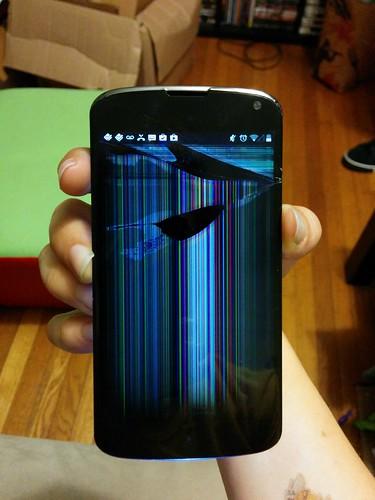 When a good Nexus 4 goes bad...