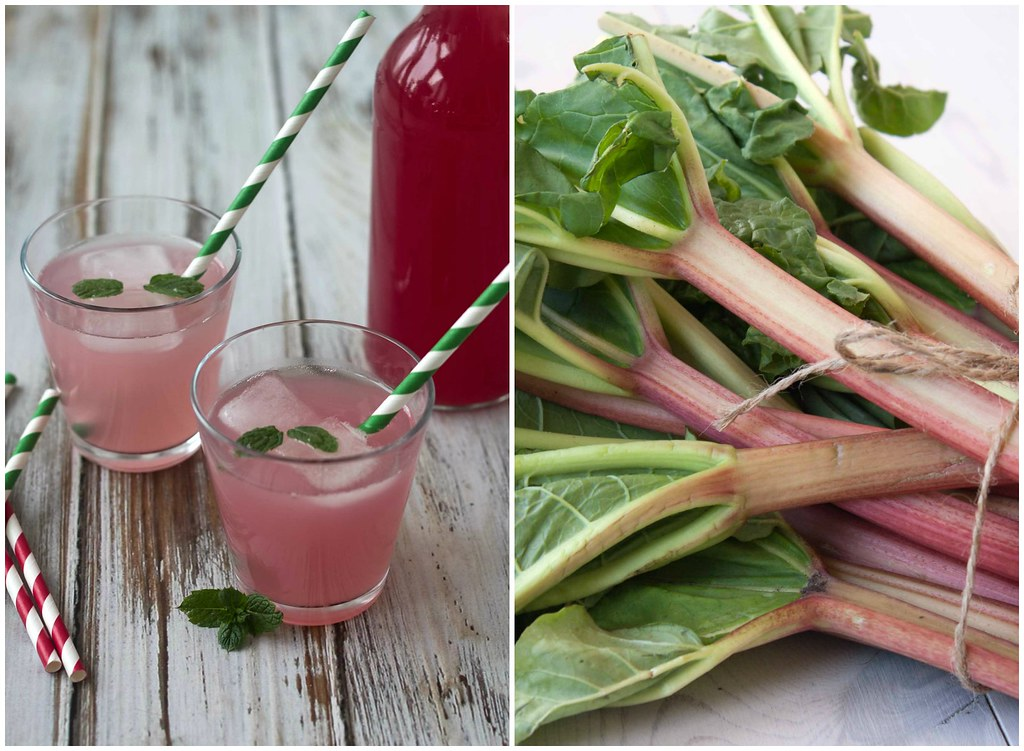 Recipe for homemade Rhubarb Juice