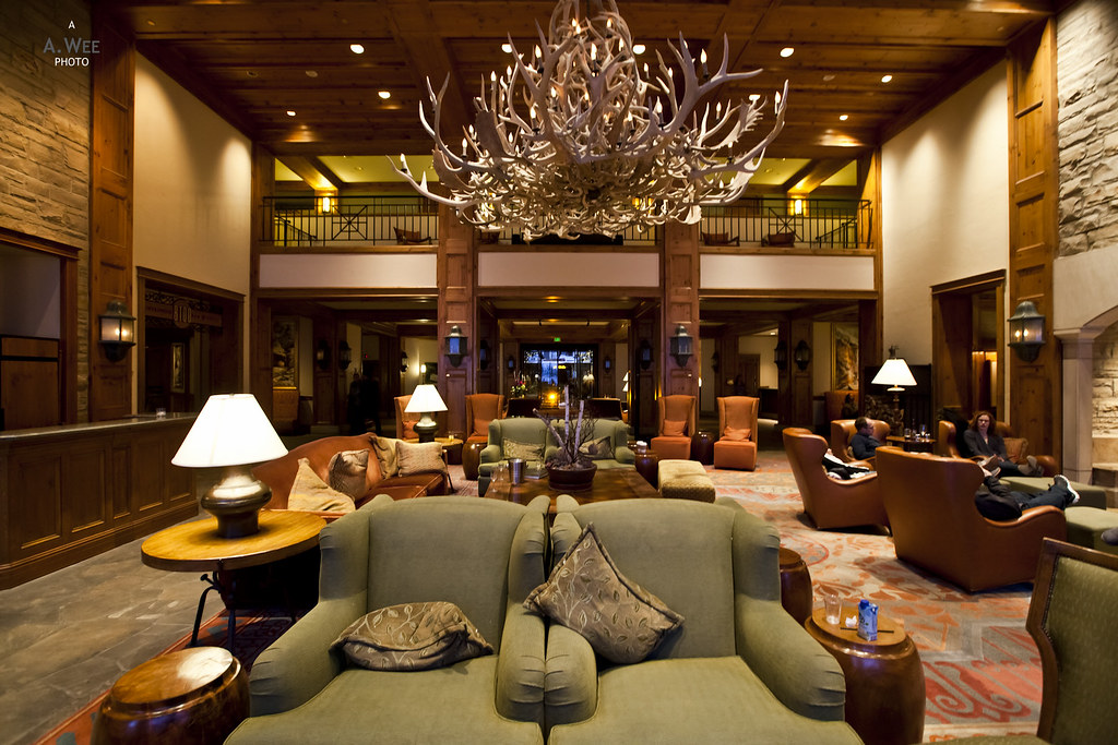 Antler hall lobby