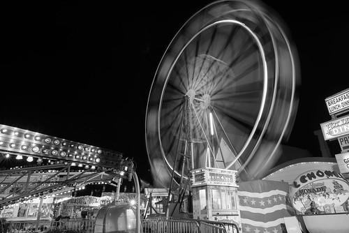 longexposure blackandwhite blur night landscape southcarolina places ferriswheel amusementpark oceandrive northmyrtlebeach nikkor24mm28d nikond600 odpavilion