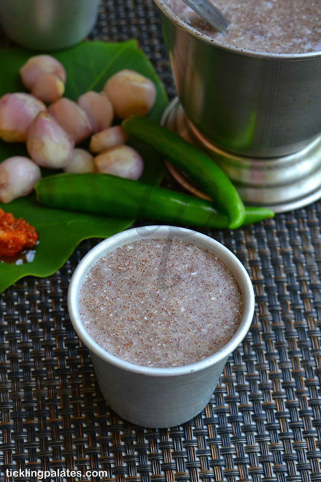 Aadi koozhu recipe