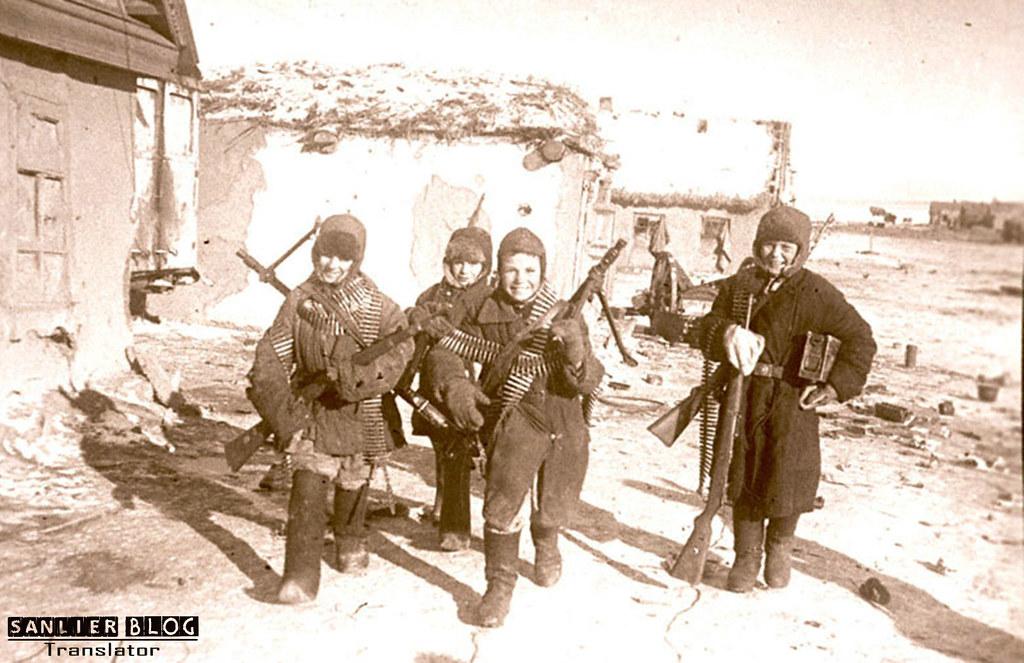 伟大卫国战争中的儿童10