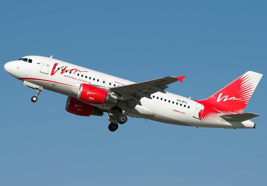 VQ-BTL  VIM Airlines Airbus A319-111