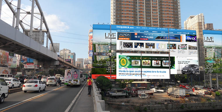 Guadalupe Bridge Website Billboards