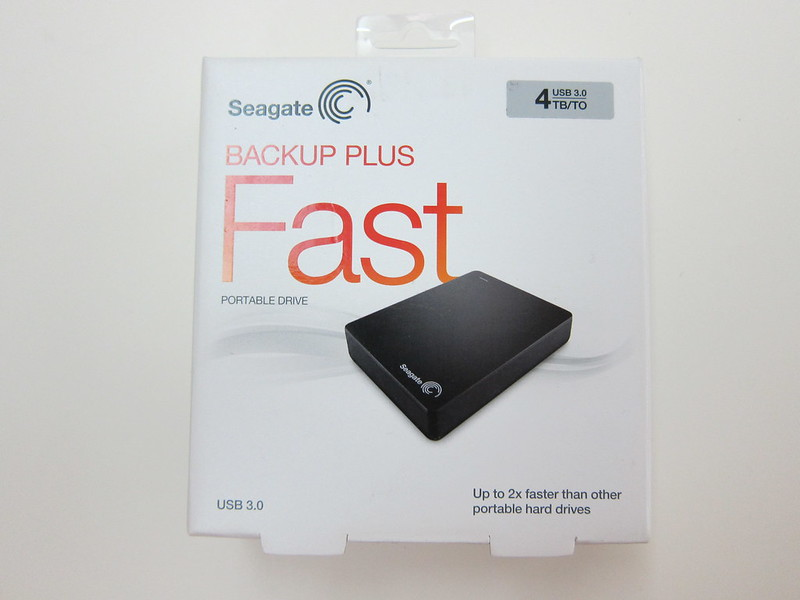 Seagate Backup Plus Fast - Box Front