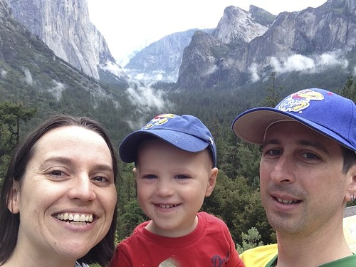 Family at Yosemite