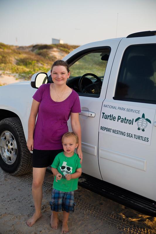 Padre Island Turtle Patrol Truck