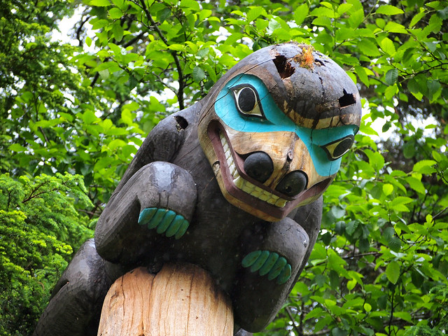 Totem Bight State Park, Ketchikan, Alaska
