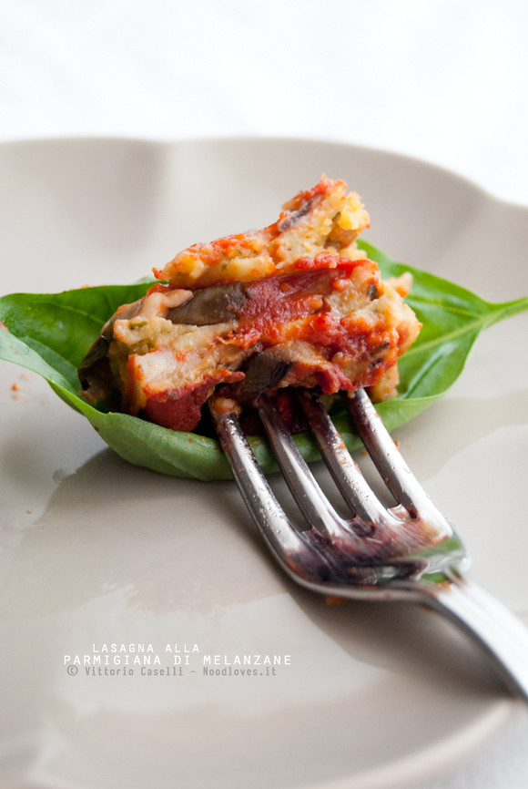 Lasagna alla Parmigiana di melanzane