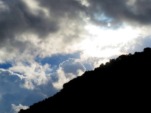 Abstract Sky and Hillside, Photo by Sherrie Thai of ShaireProductions.com