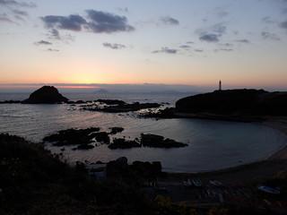 爪木崎からの日の出|Tsumekizaki Cape Sunrise