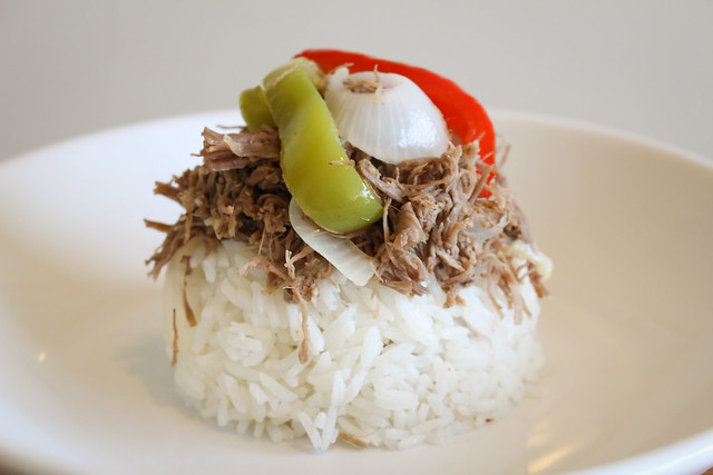 Ropa Vieja (Cuban Shredded Beef) | via HeartofHomemade.com
