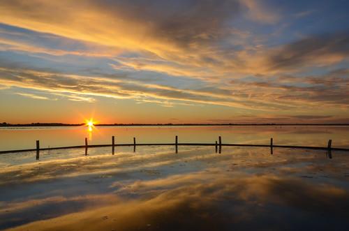 sunset italy italia tramonto saline ravenna emiliaromagna romagna cervia salinedicervia