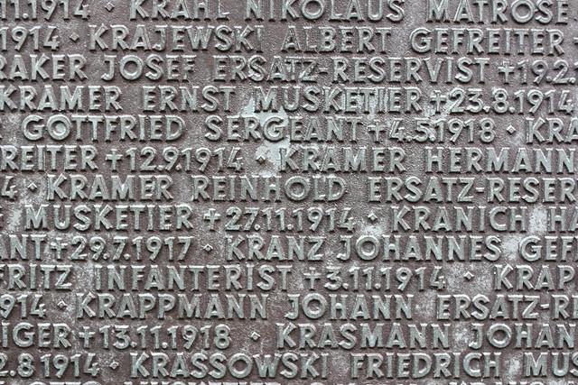 Langemark War Cemetary