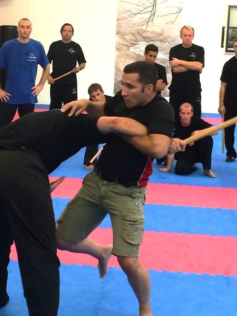 Krav Maga Training mit Bogac Demirer