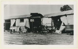 Train Explosion, Mt Gambier, 1914