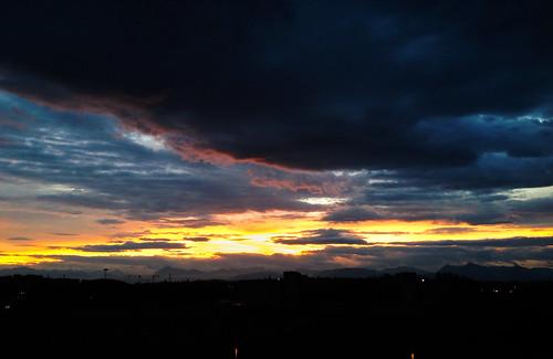 sunset summer sky colors italia udine friuliveneziagiulia