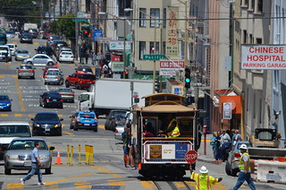 MUNI - Powell and Washington - July 31, 2014
