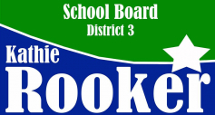 Whom I Will Vote For? Kathie Rooker
