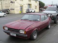 automobile, automotive exterior, executive car, vehicle, performance car, ford capri, ford, antique car, land vehicle, coupã©, sports car,