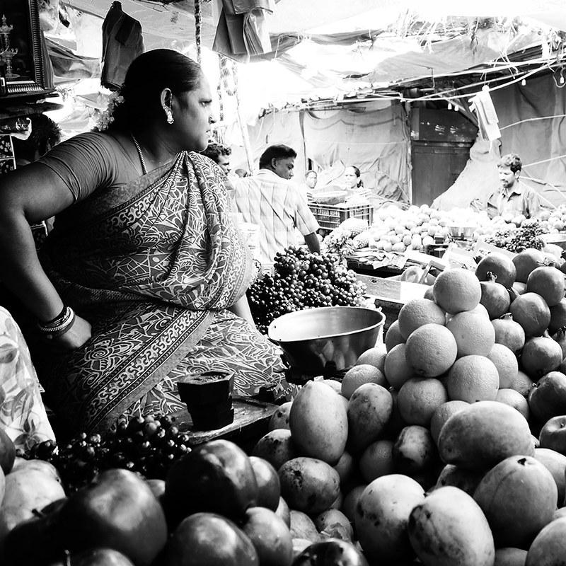 India. Mango season..