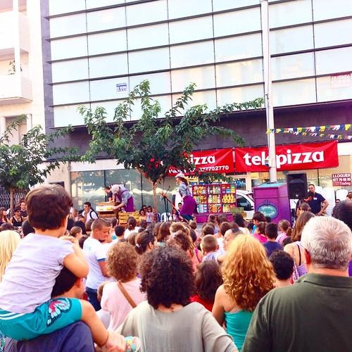 #festesamposta2014 espectacle infantil