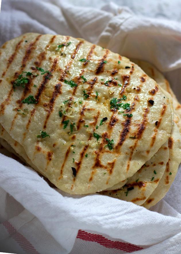 2 Ingredient Naan Flatbread