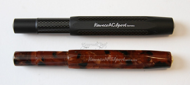 Review @Kaweco Sport Art Amber - Broad
