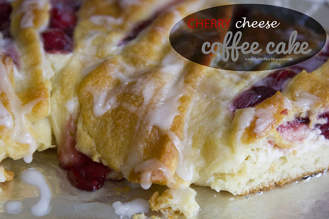 Cherry Cheese Coffee Cake