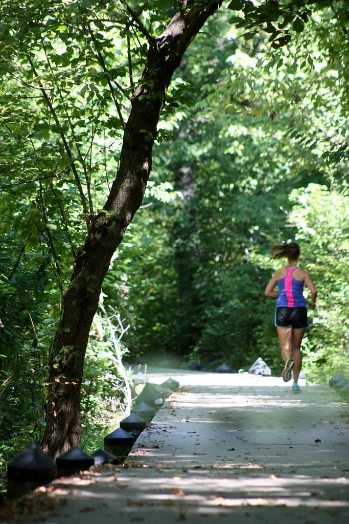 Roosevelt Island Runner