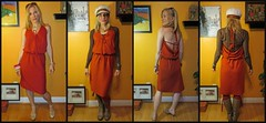 Burda Sundress Pattern Sewn in a Knit for All Seasons