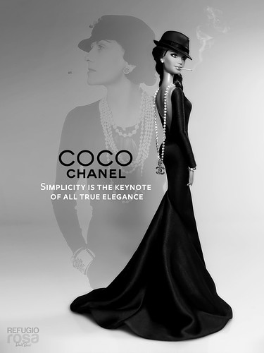 "131 aniversario del nacimiento de Coco Chanel: ""La simplicidad es la clave de la verdadera elegancia."" (131 birth anniversary of Coco Chanel: ""Simplicity is the keynote of all true elegance."")"
