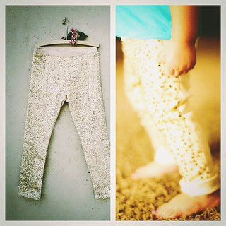 My joyfolie knock off sequin leggings. Maybe to be blogged about some day : )