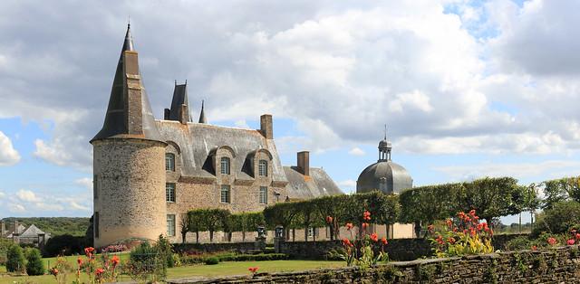 Chateau des rochers Sévigné