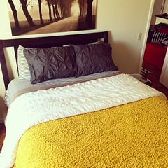 The bedroom is coming along! #mywestelm
