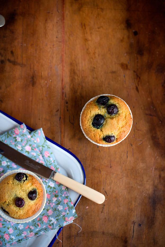 Muffins ai mirtilli