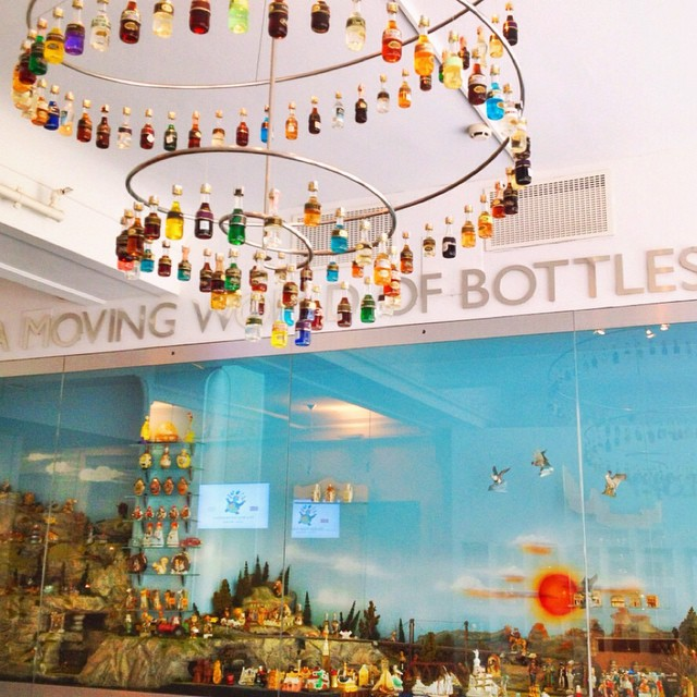 Museo de mini botellas