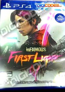 JUAL MURAH : PS4 INFAMOUS FIRST LIGHT
