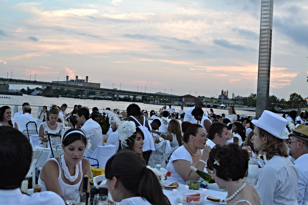 Diner En Blanc Washington DC 315