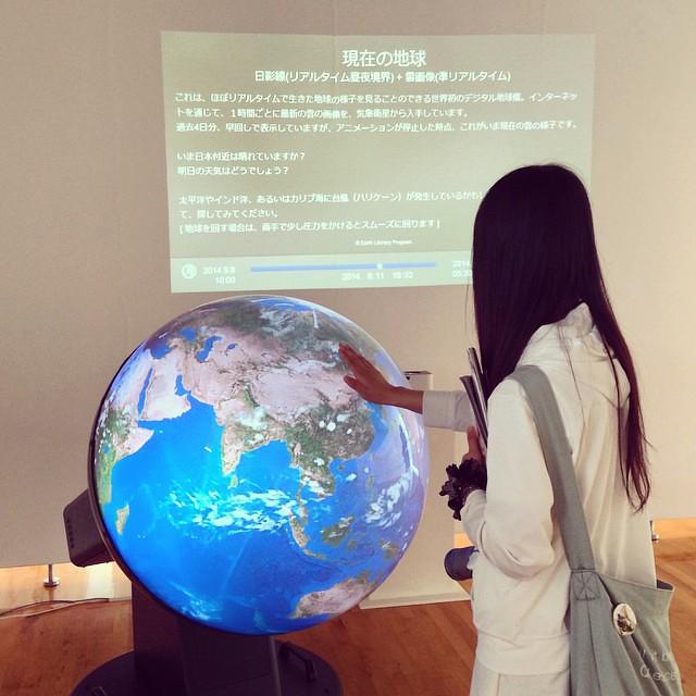 竹村真一さんの「触れる地球」で、地球規模の空と大地の動きを実感した #札幌国際芸術祭