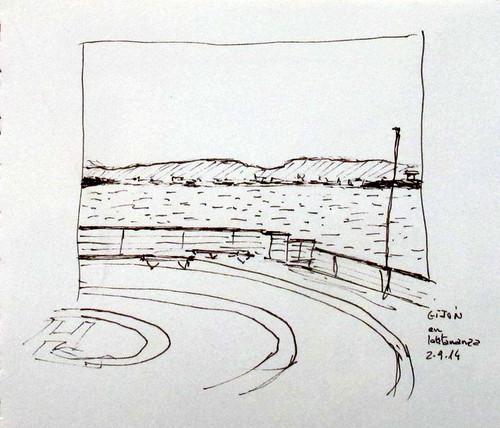 Viaje en barco (5). Travesía Gijón-Nantes