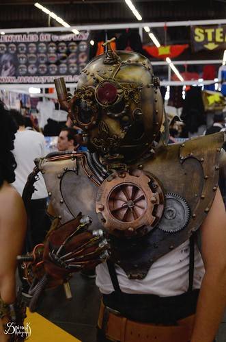 Cosplays at the 4th day of Japan Expo 15eme/2014 , Paris, France: more awesome steampunk