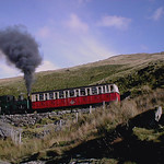 Black smoke on Snowdon train.