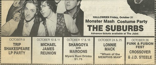 10/29/86 Wendy O. Williams @ The Cabooze, Minneapolis, MN (Ad-Bottom)