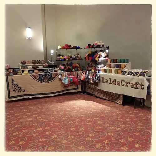 We be open! #floridafiberin #craftshow