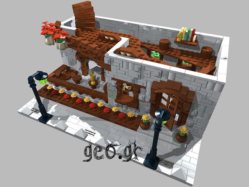 [Digital MOC]:Modular Cottage House 15111938317_bab26c416d_c
