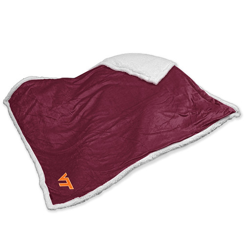 Virginia Tech Hokies NCAA Sherpa Blanket