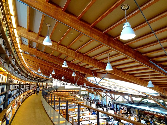 Takeo city library + Tsutaya book store + Starbucks store, 武雄市図書館・蔦屋書店, Japan